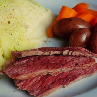 Corned Beef Brisket with Boiled Vegetables