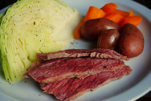 Corned Beef Brisketwith Boiled Vegetables