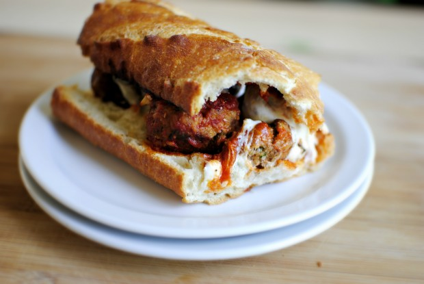 Italian Meatball Sandwiches l SimplyScratch.com