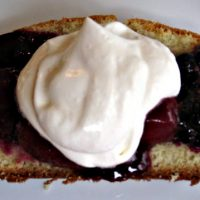 Fresh Berry Compote with Real Whipped Cream