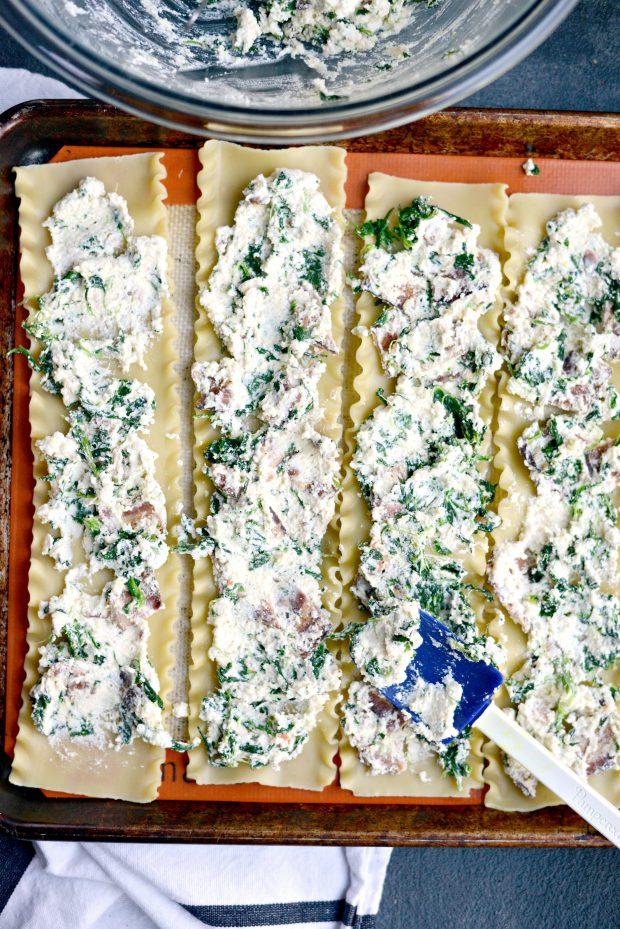 Lasagna Roll-ups l SimplyScratch.com (lasagna/filling)