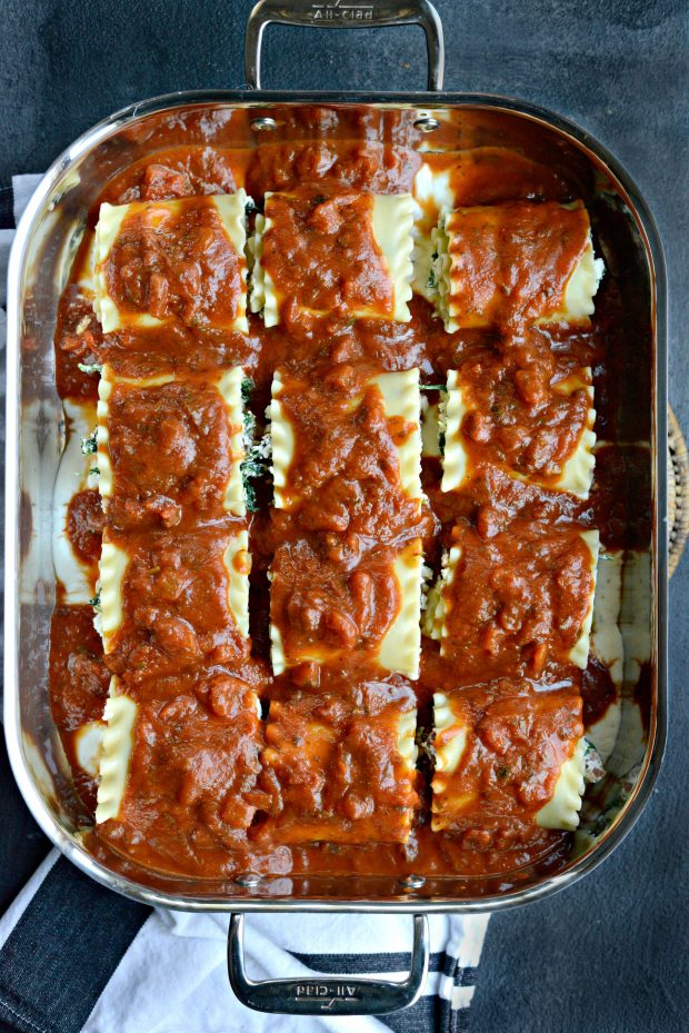 Lasagna Roll-ups l SimplyScratch.com (sauce)