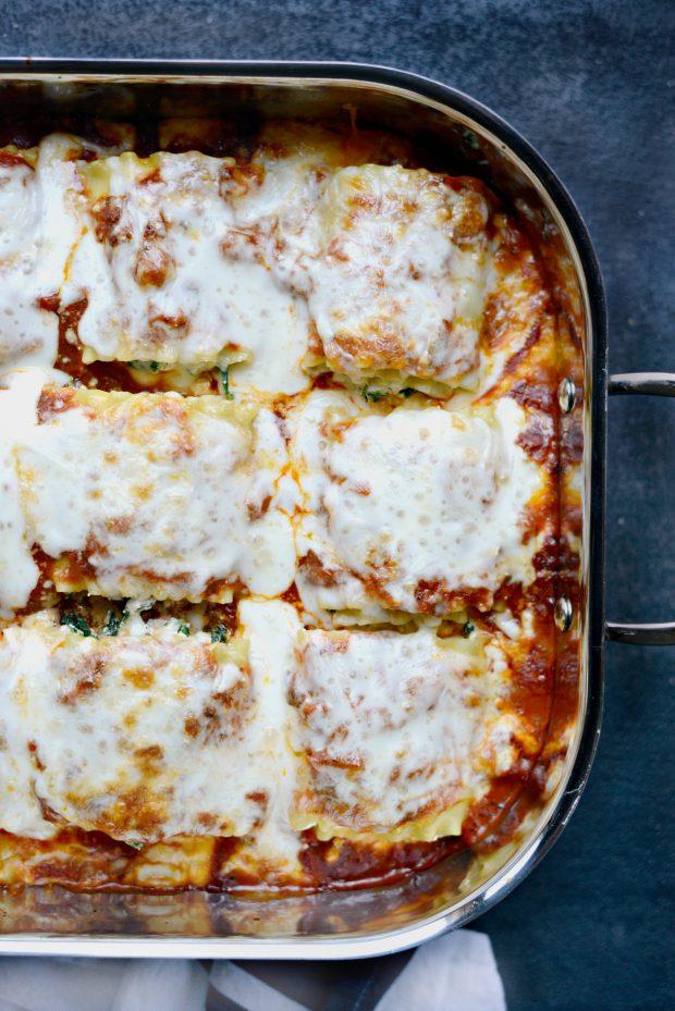Lasagna Roll-ups l SimplyScratch.com (baked)