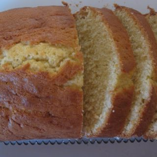Perfect Plain Pound Cake