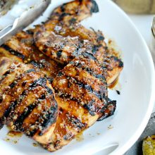 Grilled Honey Mustard Chicken l SimplyScratch.com  (13)