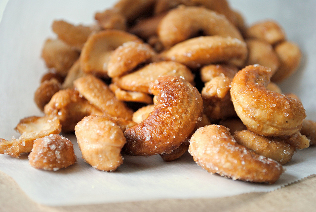 Simply Scratch Honey Roasted Cashews - Simply Scratch