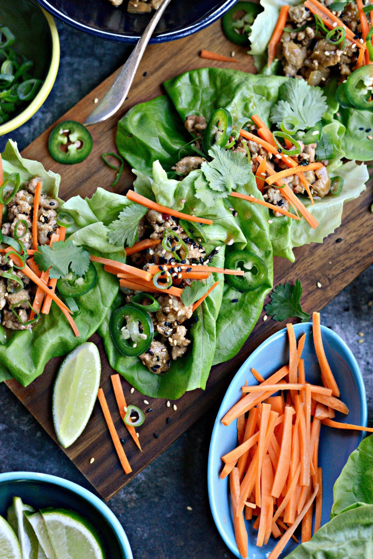 Saucy Pork Lettuce Wraps l SimplyScratch.com (11)