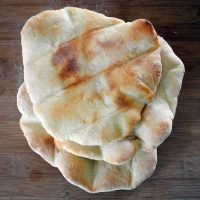 Homemade Rustic Pita Bread