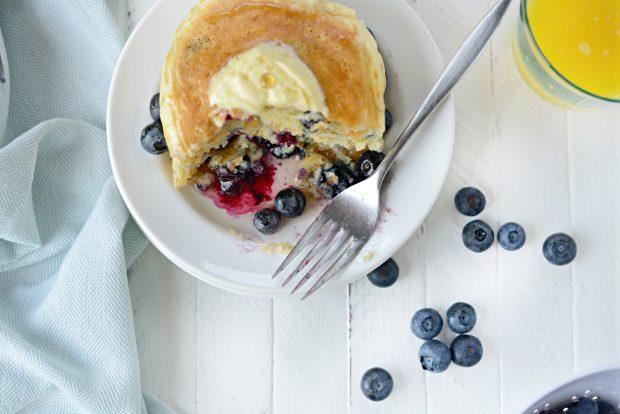 Lemon Bluebery Pancakes l SimplyScratch.com (018)