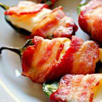 Bacon Wrapped Jalapeños