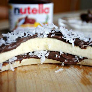 Banana Nutella Split