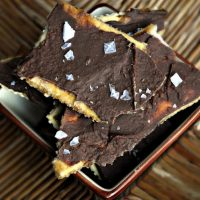 Sea Salt Saltine Toffee