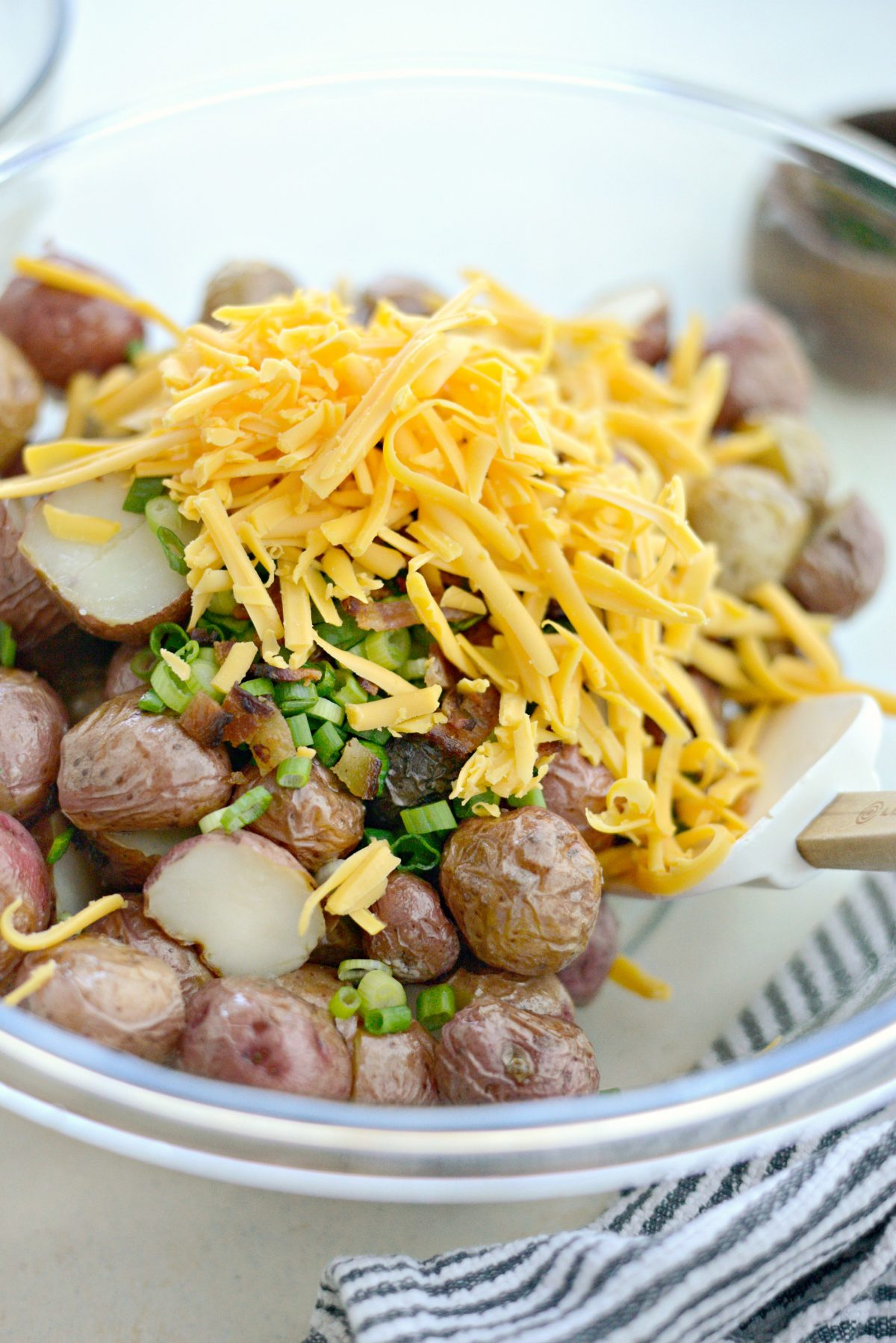Bacon Cheddar Ranch Potato Salad l SimplyScratch.com (5)