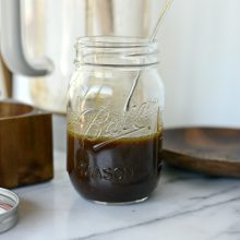 House Balsamic Vinaigrette l SimplyScratch.com  (9)