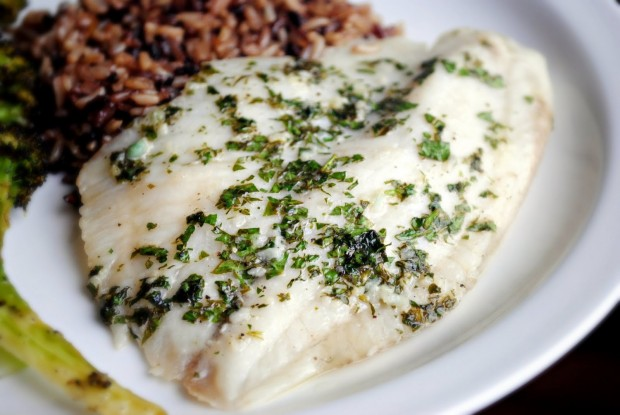 Easy Lemon Garlic Baked Tilapia