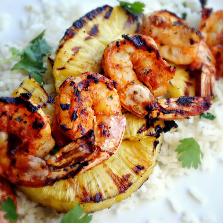 Spicy Chipotle Shrimp Skewers