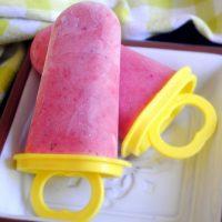 Strawberry Daiquiri Popsicles
