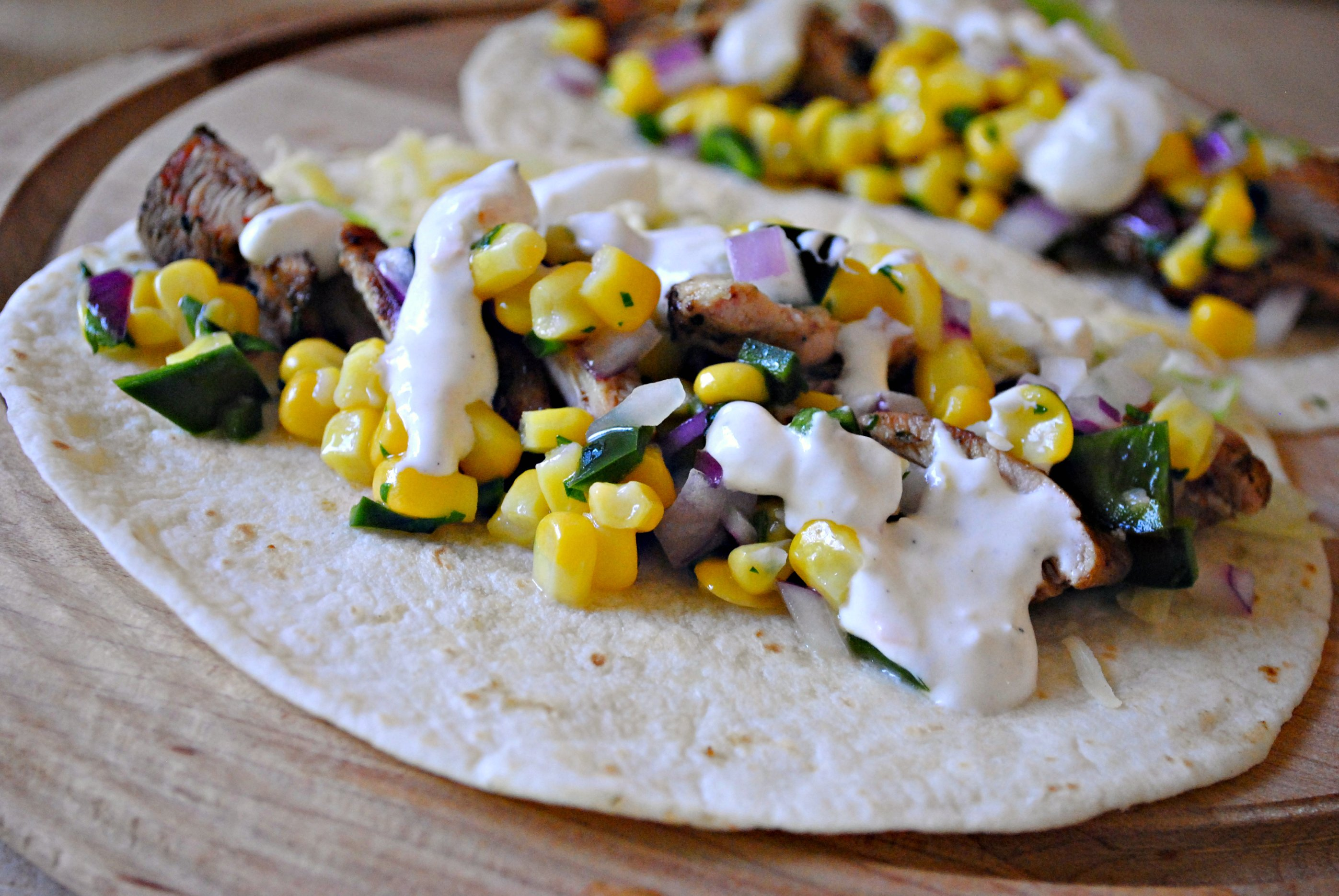 Simply Scratch Tasty Grilled Chicken Tacos - Simply Scratch