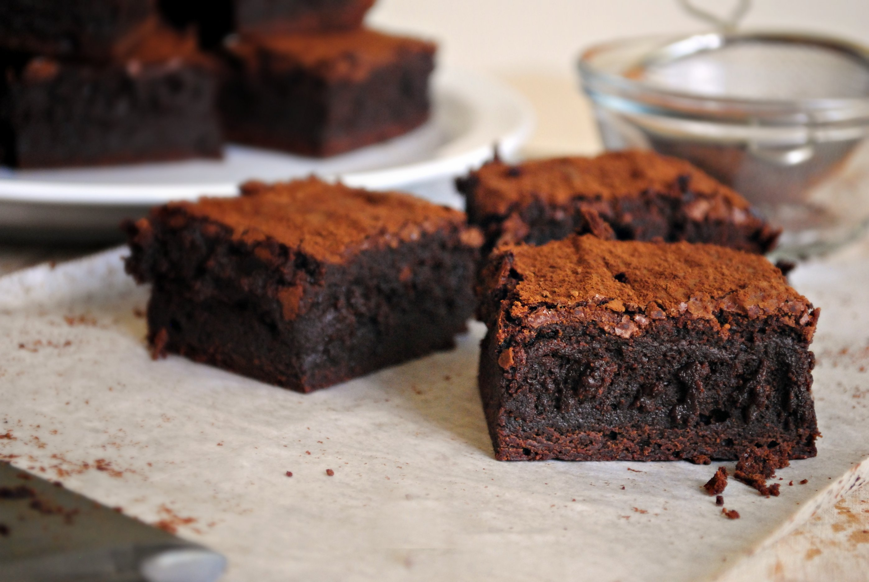 Simply Scratch Spicy Chocolate Cayenne Truffle Brownies ...