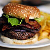 The Black and Bleu Burger
