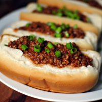 Lunch Lady Sloppy Joes