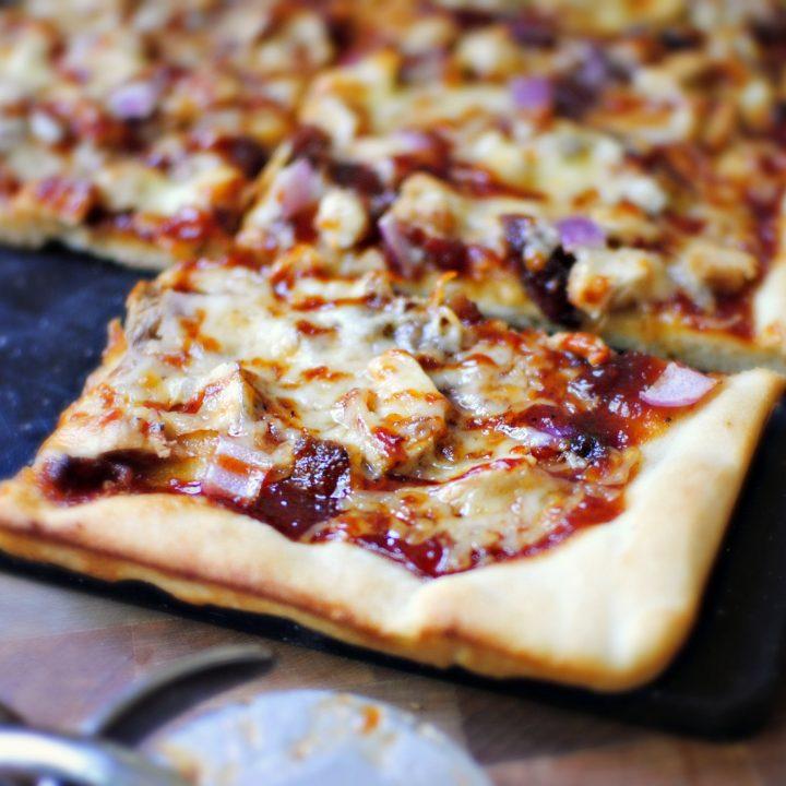 Barbecue Pheasant Pizza