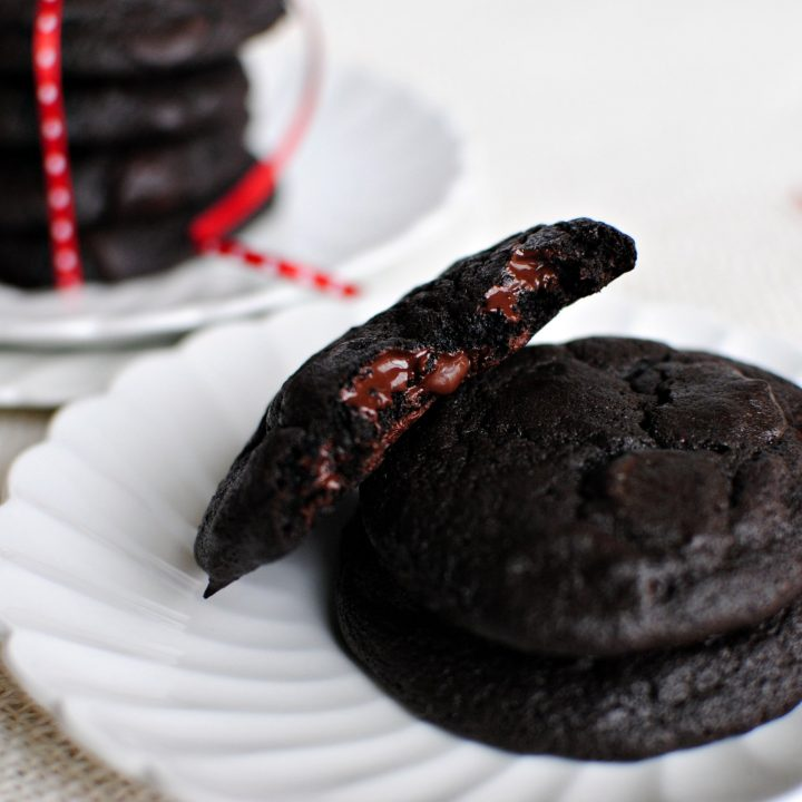 Double Dark Chocolate Merlot Cookies