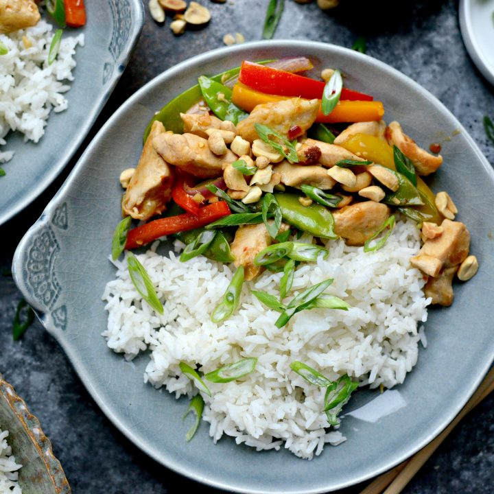 Spicy Szechuan Chicken Stir-Fry