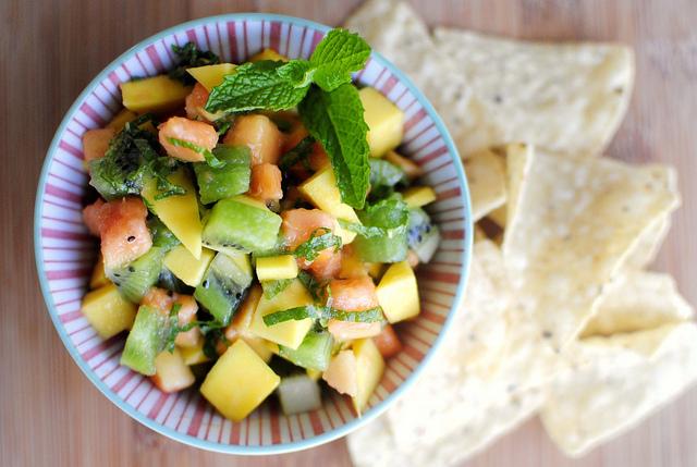 fruit salsa fruit shoot