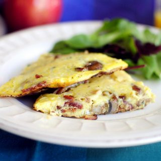 Caramelized Mushroom & Onion Frittata