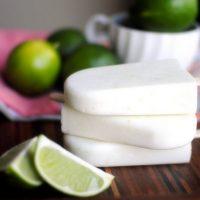 Coconut-Lime Yogurt Popsicles
