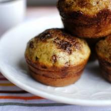 Cinnamon Swirl Pancake Muffins