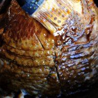 Orange, Brown Sugar Glazed Ham