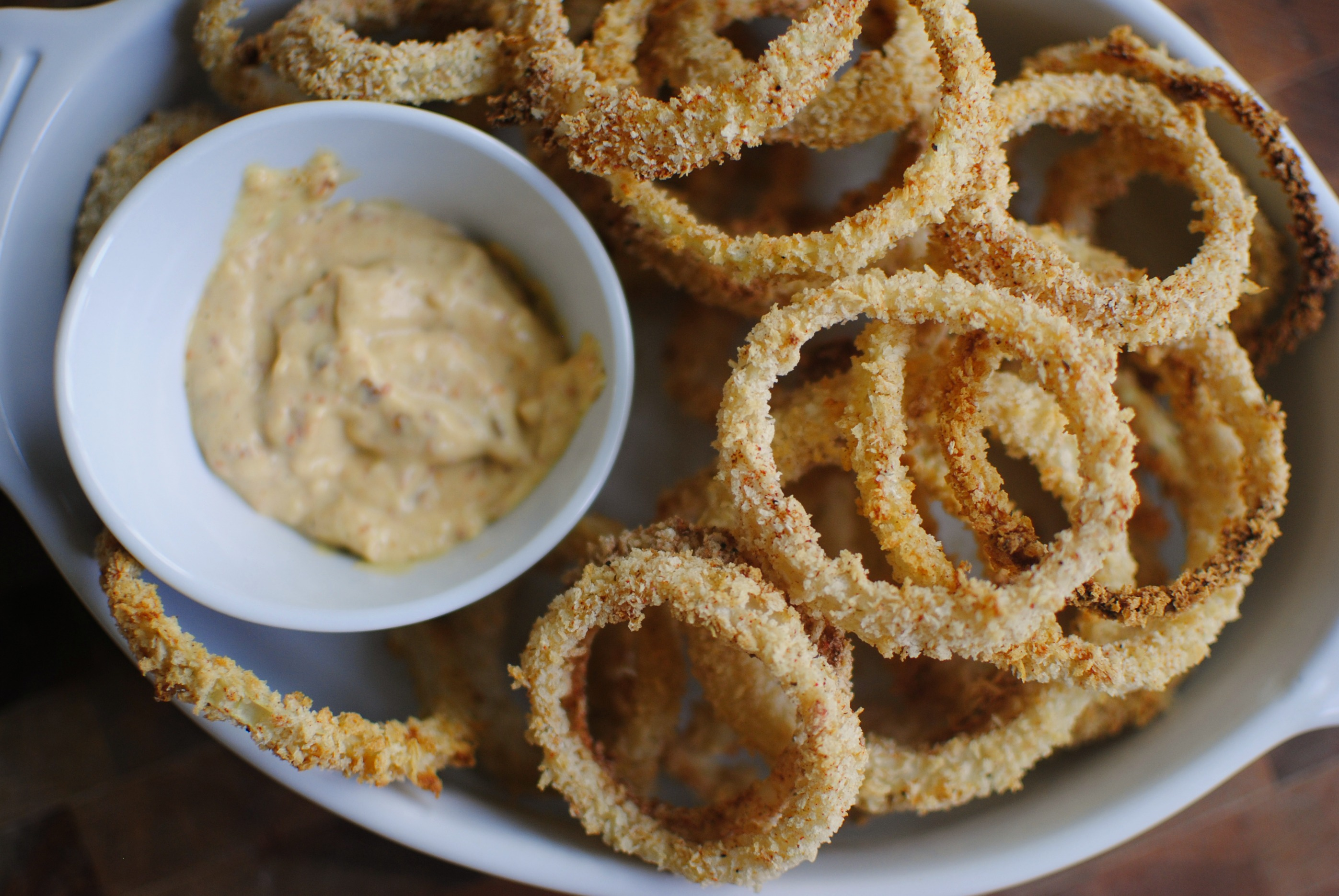 Simply Scratch Crispy Baked Onion Rings - Simply Scratch
