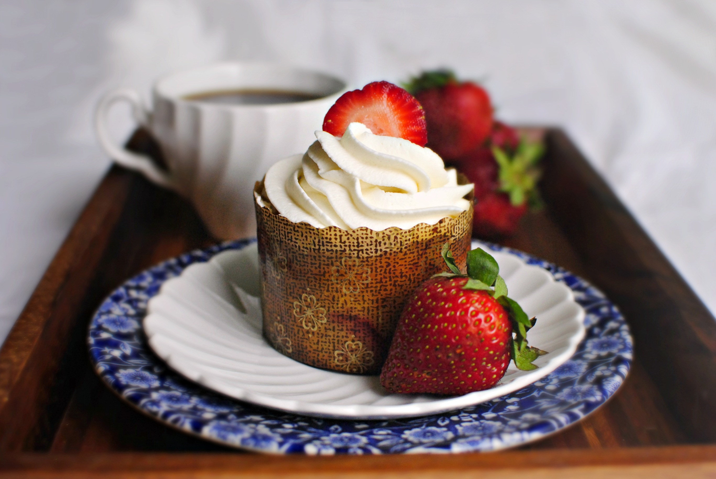 Simply Scratch Strawberry Lemon Mini Yogurt Cakes Homemade Bon