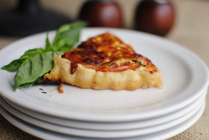 Elegant Tomato Tart