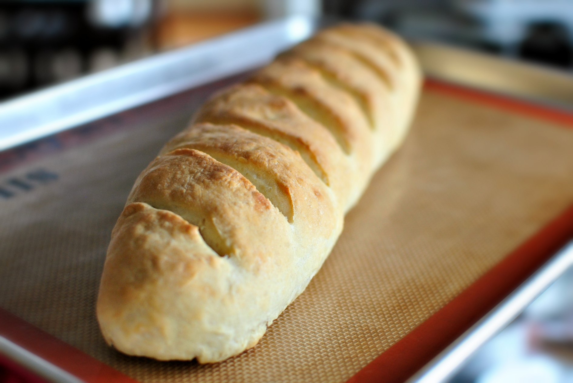 Simply Scratch Easy Homemade French Bread - Simply Scratch