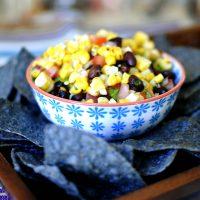 Charred Corn and Black Bean Salsa