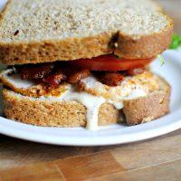 Caesar BLT Club Sandwich