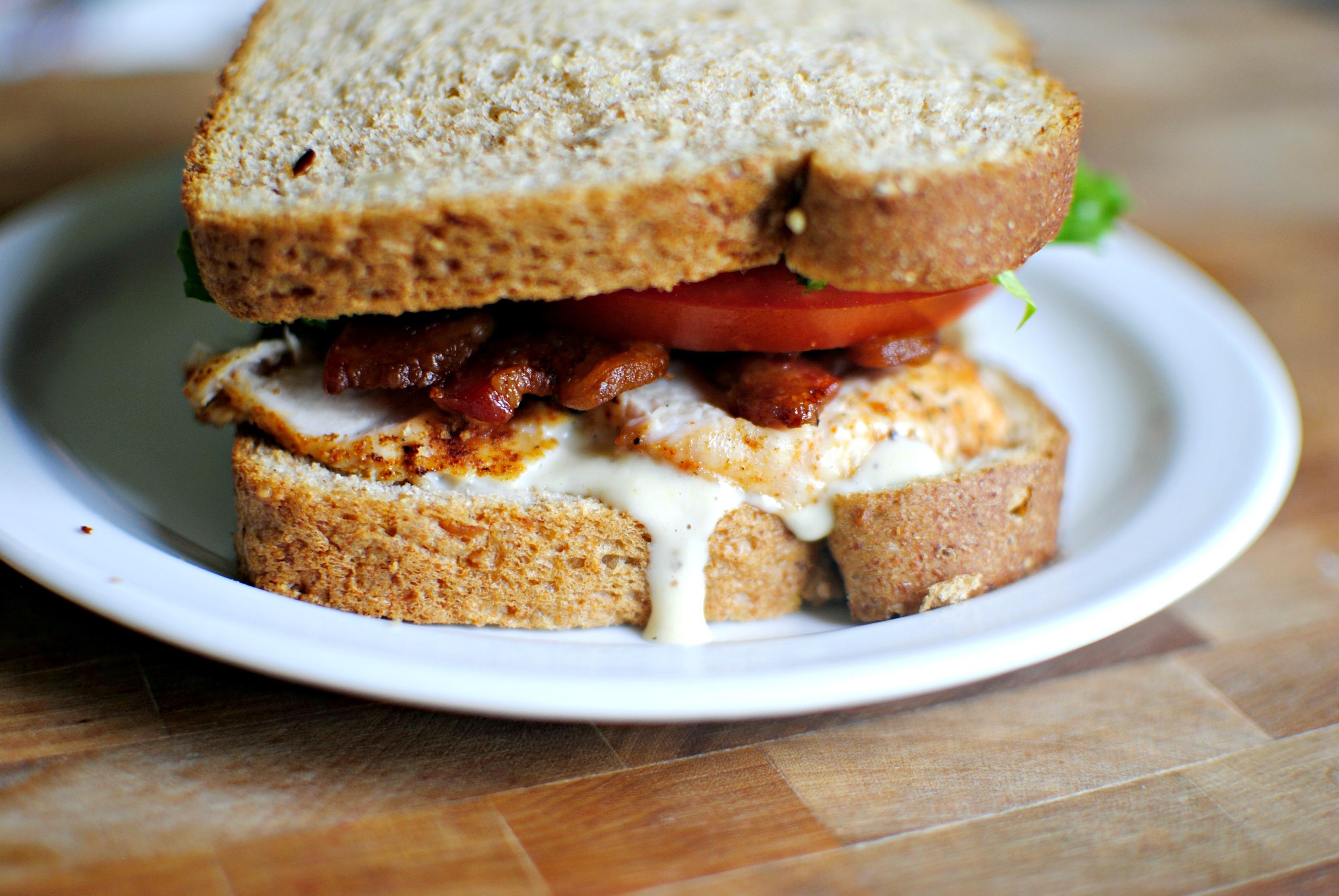 Simply Scratch Caesar BLT Club Sandwich - Simply Scratch