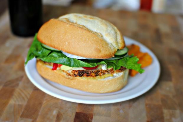 Mediterranean Sandwich l SimplyScratch.com