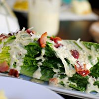 Caesar Romaine Wedge Salad