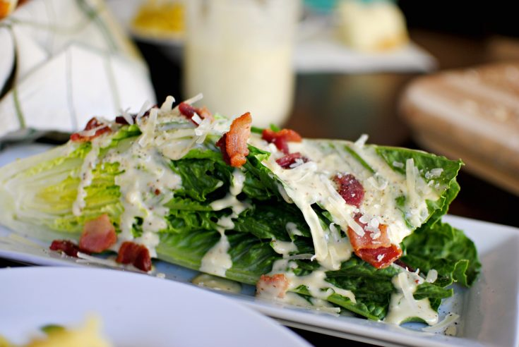 Caesar Romaine Wedge Salad