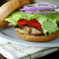 Perfect Grilled Turkey Burgers