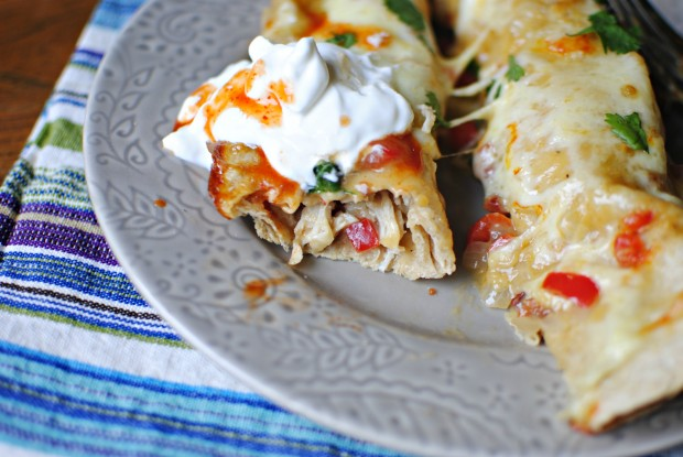 Lighter Chicken Enchiladas Recipes — Dishmaps