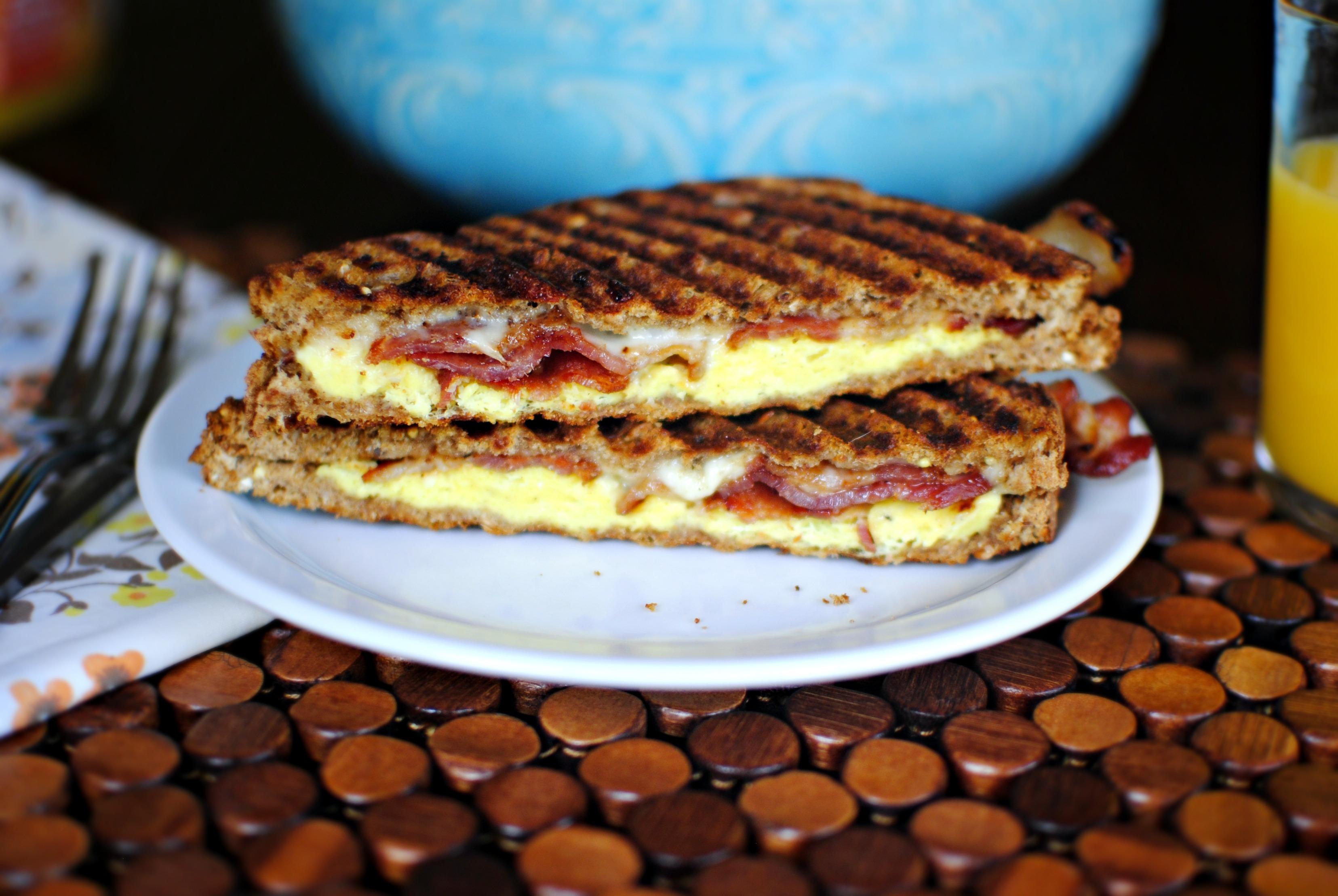 Breakfast Panini Simply Scratch