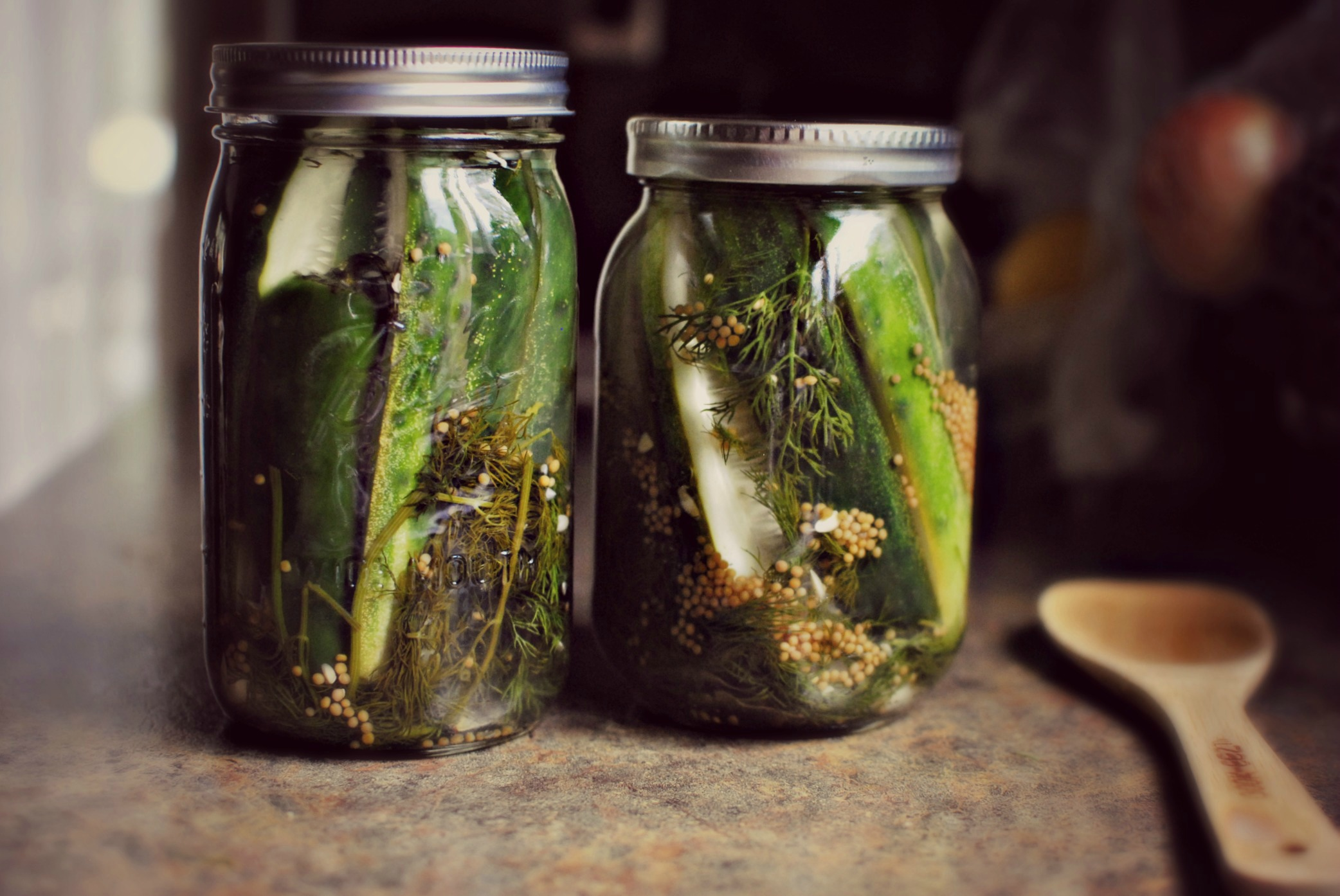 Simply Scratch » Homemade Sour & Spicy Dill Pickles
