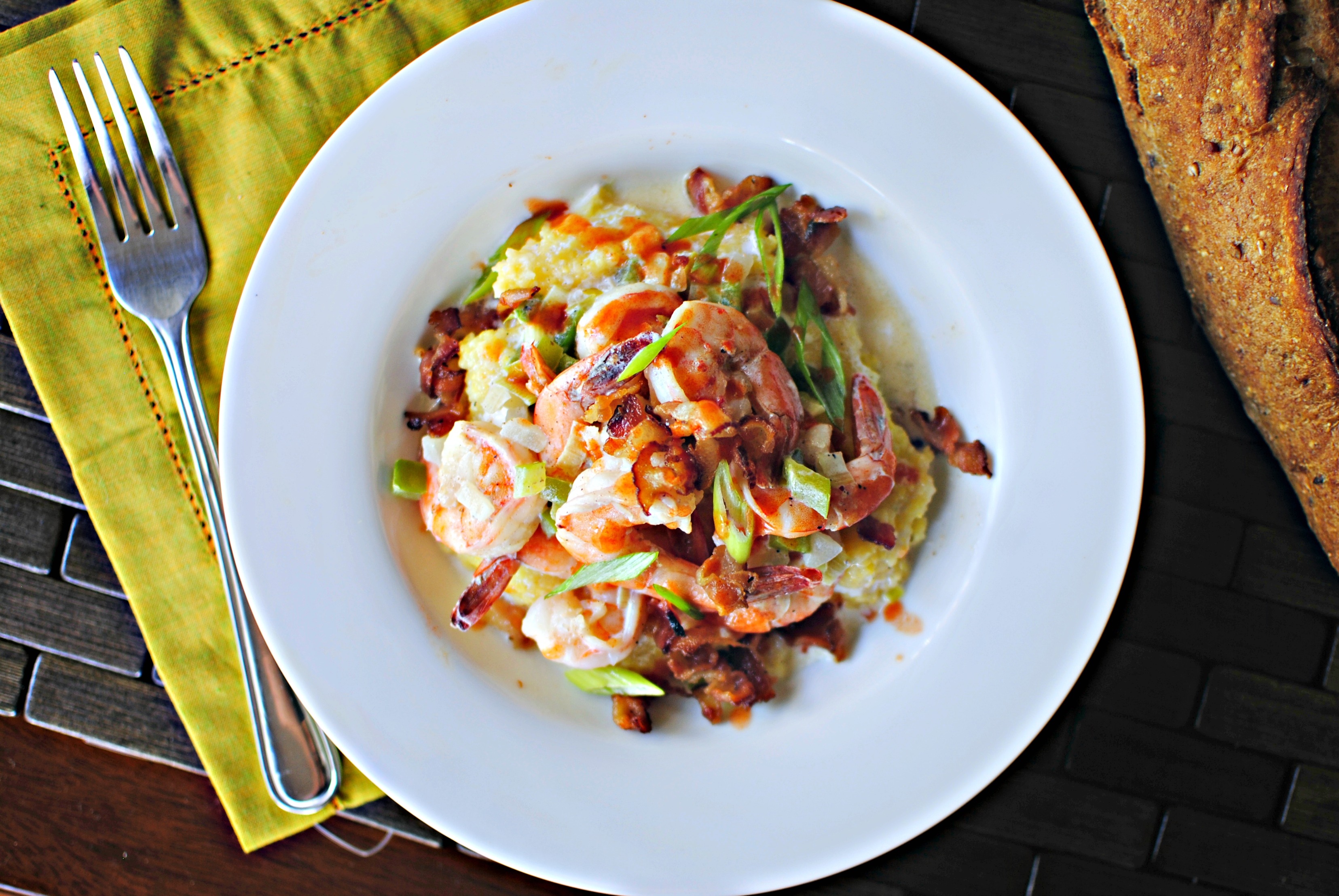 ... Scratch Jenna Webbers Lowcountry Shrimp & Grits 02 - Simply Scratch