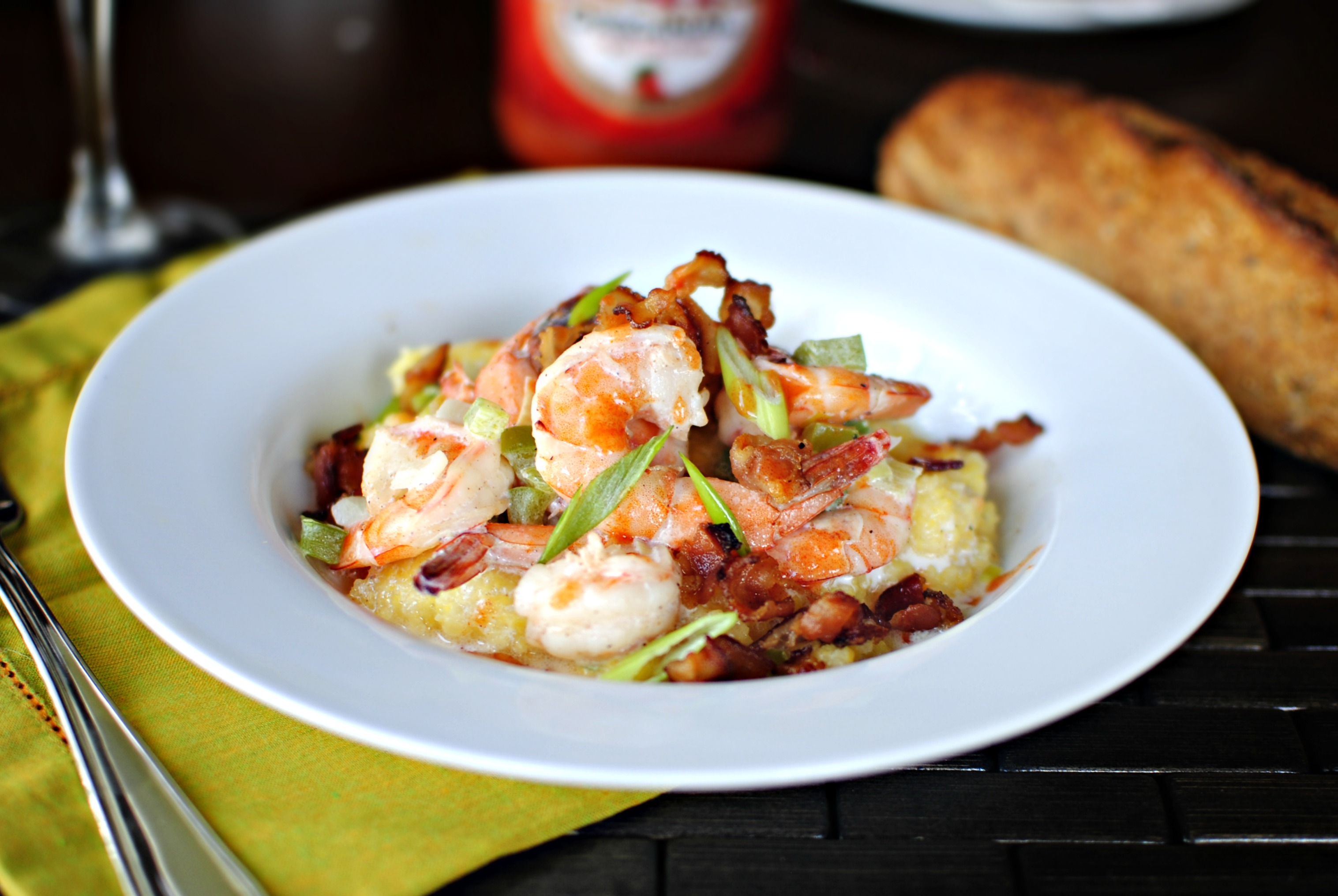 Simply Scratch Low Country Shrimp And Grits From Jenna Weber S White Jacket Required
