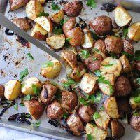 Dijon Roasted Red Skin Potatoes